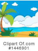 Beach Clipart #1446901 by Graphics RF