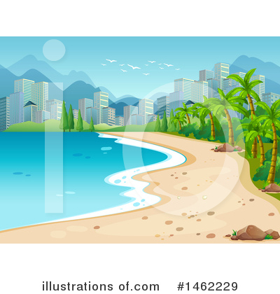 Coast Clipart #1462229 by Graphics RF