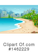 Royalty-Free (RF) Beach Clipart Illustration #1462229