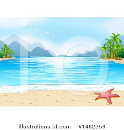 Palm Trees Clipart #1462356 by Graphics RF