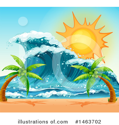 Waves Clipart #1463702 by Graphics RF