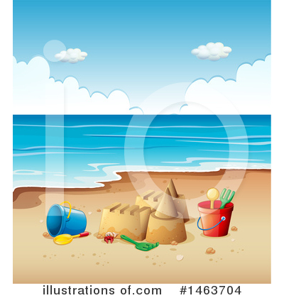 Tropical Beach Clipart #1463704 by Graphics RF