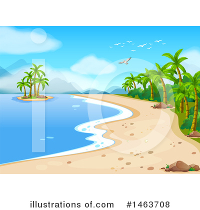 Coast Clipart #1463708 by Graphics RF