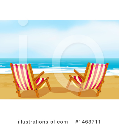 Tropical Beach Clipart #1463711 by Graphics RF