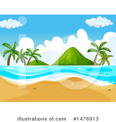 Palm Trees Clipart #1476913 by Graphics RF