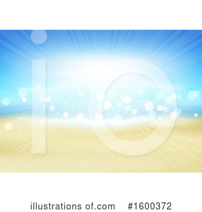 Royalty-Free (RF) Beach Clipart Illustration by KJ Pargeter - Stock Sample #1600372