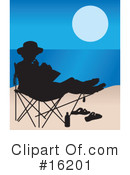 Royalty-Free (RF) Beach Clipart Illustration #16201