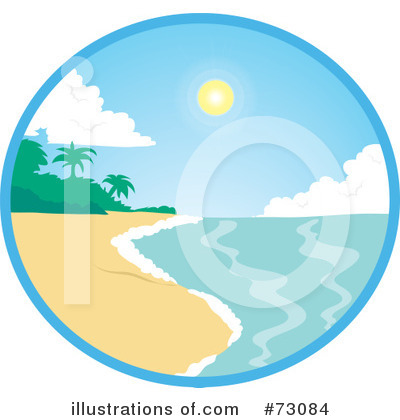Beach Clipart #73084 by Rosie Piter