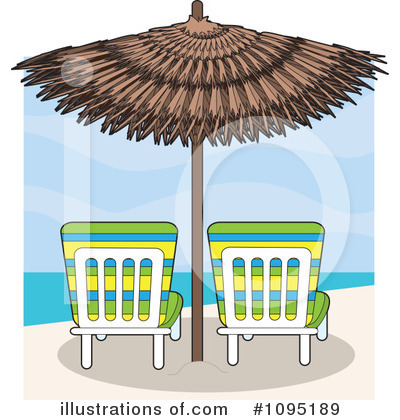 Beach Clipart #1095189 by Maria Bell