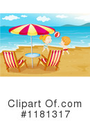 Royalty-Free (RF) beach volleyball Clipart Illustration #1181317
