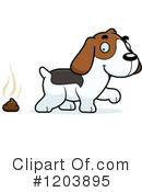 Beagle Clipart #1203895 by Cory Thoman