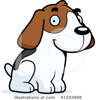 Dog Clipart #1203898 by Cory Thoman