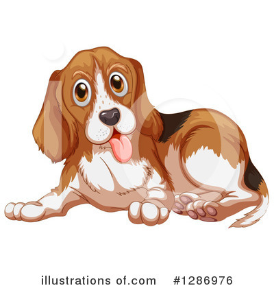 Dog Clipart #1286976 by Graphics RF