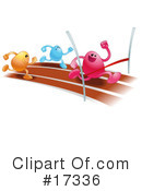 Royalty-Free (RF) Bean Characters Clipart Illustration #17336