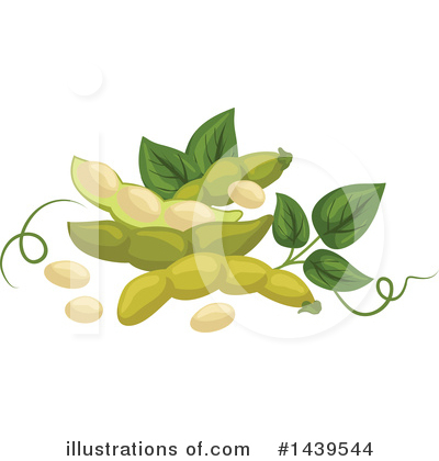 Beans Clipart #1439544 by Vector Tradition SM