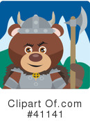 Bear Character Clipart #41141