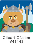 Bear Character Clipart #41143