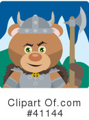 Bear Character Clipart #41144