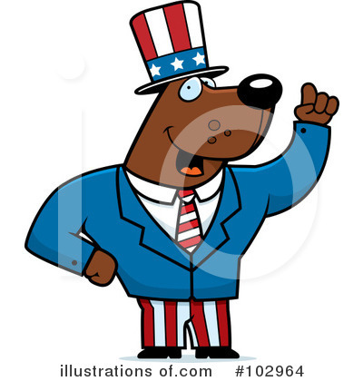 Uncle Sam Clipart #102964 by Cory Thoman