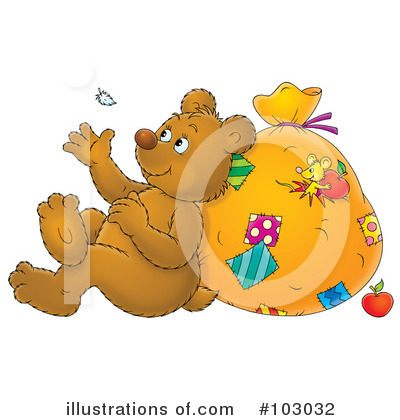 Bear Clipart #103032 by Alex Bannykh