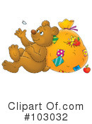 Royalty-Free (RF) Bear Clipart Illustration #103032