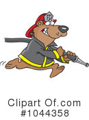 Royalty-Free (RF) Bear Clipart Illustration #1044358