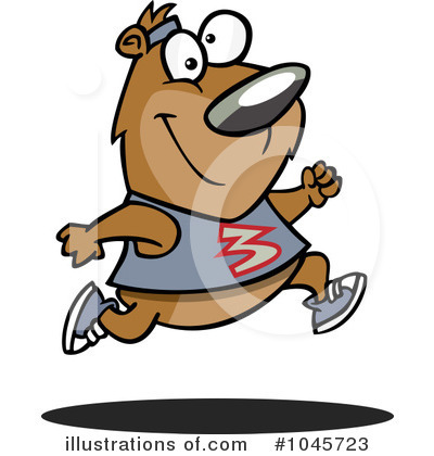 Jogging Clipart #1045723 by toonaday