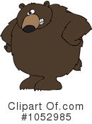 Royalty-Free (RF) Bear Clipart Illustration #1052985