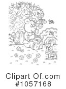 Royalty-Free (RF) bear Clipart Illustration #1057168