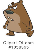 Royalty-Free (RF) Bear Clipart Illustration #1058395