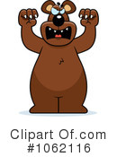 Royalty-Free (RF) Bear Clipart Illustration #1062116
