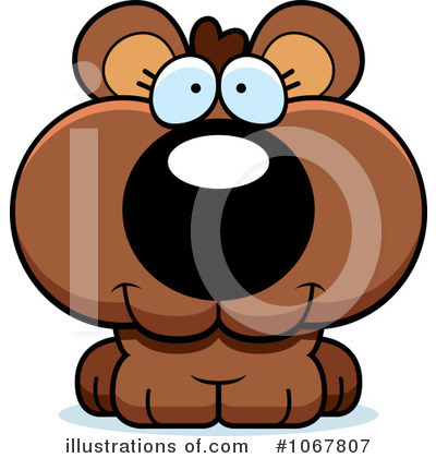 Bear Clipart #1067807 by Cory Thoman