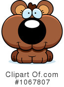 Royalty-Free (RF) bear Clipart Illustration #1067807