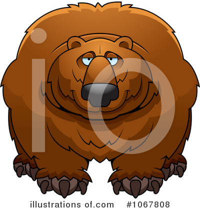 Bear Clipart #1067808 by Cory Thoman