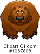 Royalty-Free (RF) bear Clipart Illustration #1067808