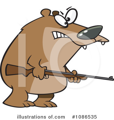 Bear Clipart #1086535 by toonaday