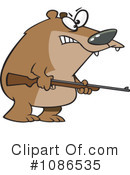 Royalty-Free (RF) Bear Clipart Illustration #1086535