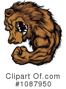 Royalty-Free (RF) bear Clipart Illustration #1087950