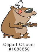 Royalty-Free (RF) bear Clipart Illustration #1088850