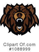 Royalty-Free (RF) Bear Clipart Illustration #1088999