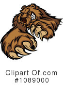 Royalty-Free (RF) Bear Clipart Illustration #1089000