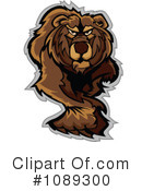 Royalty-Free (RF) Bear Clipart Illustration #1089300
