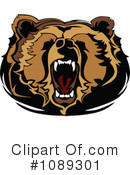 Royalty-Free (RF) Bear Clipart Illustration #1089301