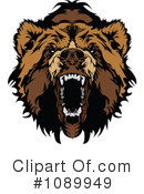 Royalty-Free (RF) bear Clipart Illustration #1089949