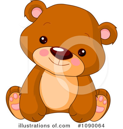 Teddy Bear Clipart #1090064 by Pushkin