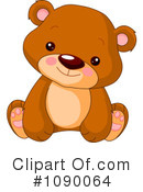 Royalty-Free (RF) Bear Clipart Illustration #1090064