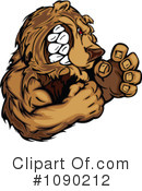 Royalty-Free (RF) Bear Clipart Illustration #1090212