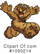 Royalty-Free (RF) Bear Clipart Illustration #1090214