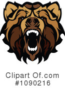 Royalty-Free (RF) bear Clipart Illustration #1090216