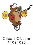 Royalty-Free (RF) Bear Clipart Illustration #1091090